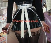 Are you going to be tied to my apron strings?